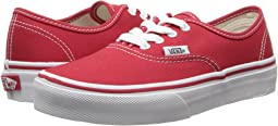 9e841b463c4262 Red True White. 382. Vans Kids. Authentic (Little Kid Big ...