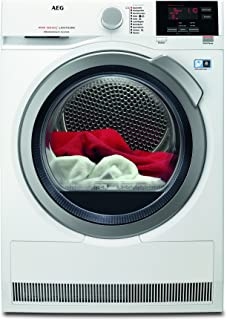AEG T8DBA3 Wärmepumpentrockner / AbsoluteCare: Wolle-Seide-Outdoor trocknen / 8 kg / Energiesparend / Mengenautomatik / Knitterschutz / Schontrommel