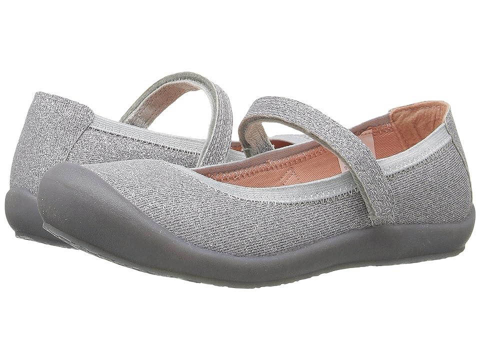 Hanna Andersson Elise (Toddler/Little Kid/Big Kid) (Silver) Girls Shoes