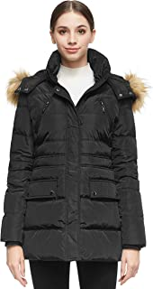 Orolay Women's Thickened Short Down Jacket Winter Coat