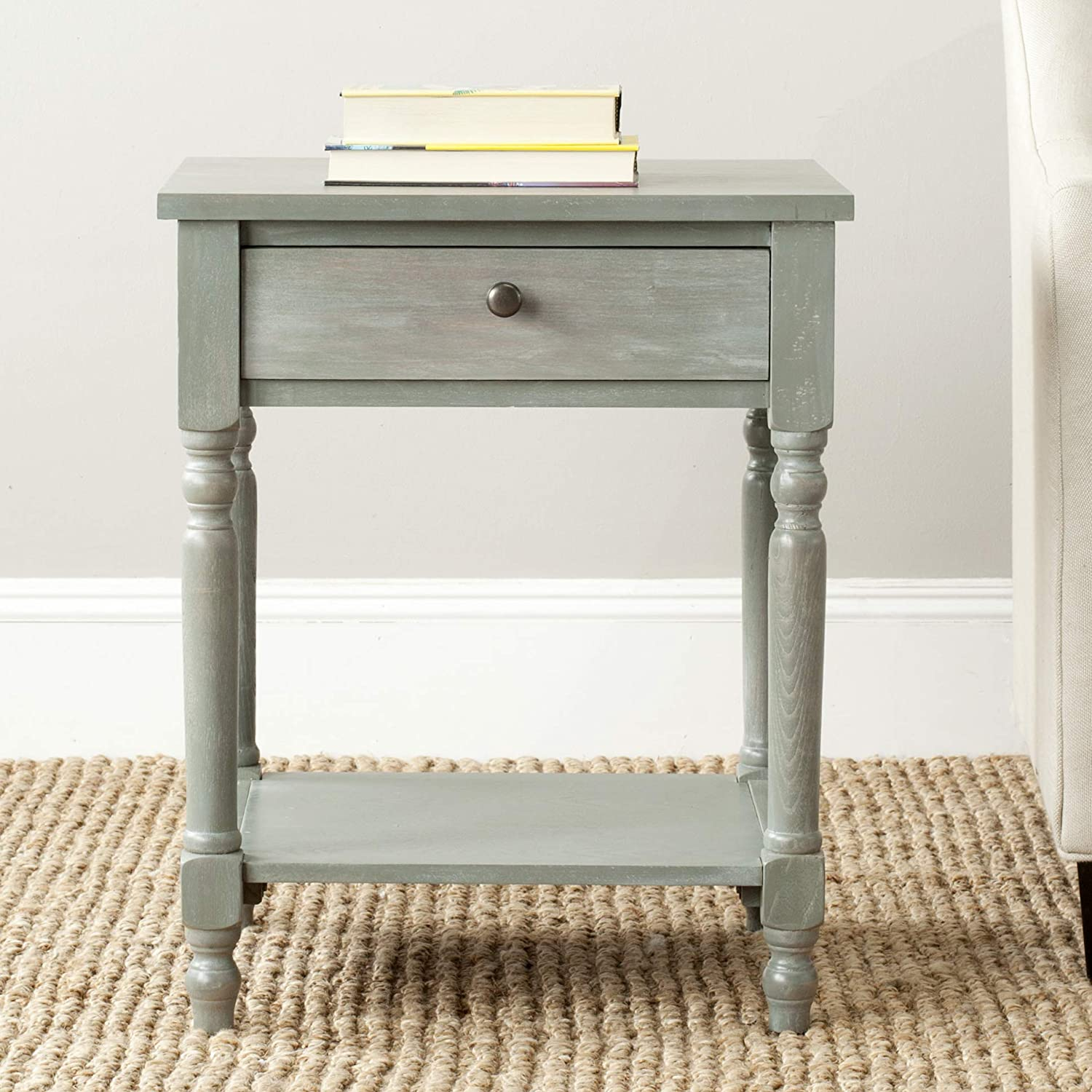Safavieh American Homes Collection Tami Ash Grey Accent Table