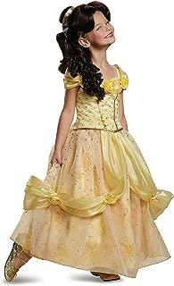 Belle Ultra Prestige Disney Princess Beauty & The Beast Costume, X-Small/3T-4T