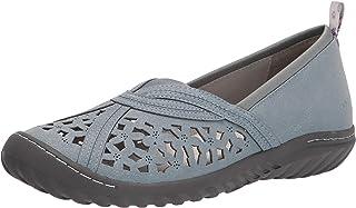 JBU by Jambu womens Pecan Loafer Flat, Denim, 7.5 US