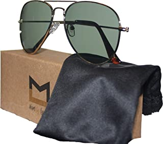 Polarized Aviator Sunglasses for Men and Women with UV400...