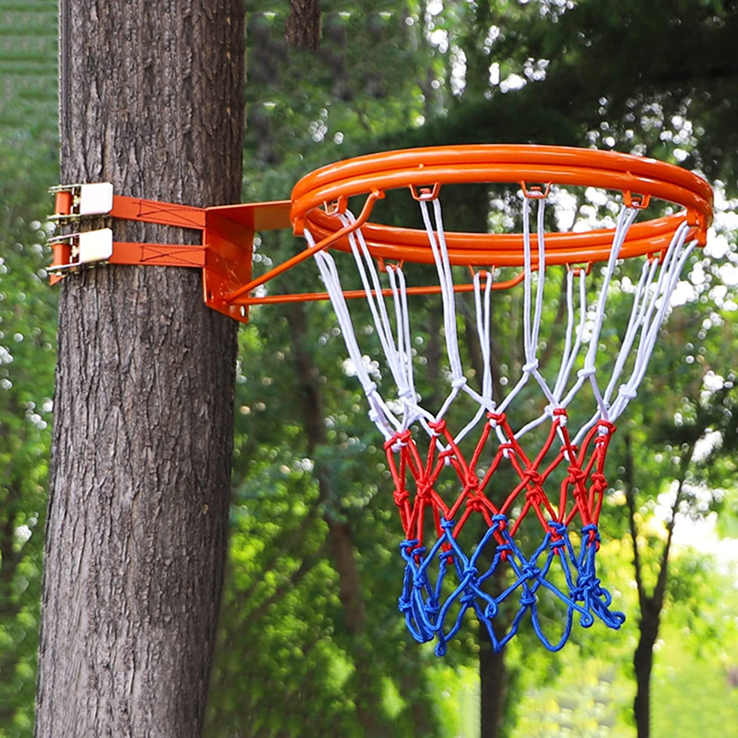 YXX- Outdoor Max 47% OFF Double Ring Same day shipping Basketball Port Rim Hoop 45cm 17.7