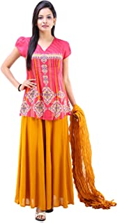 Vastra Vinod Women's Casual Wear Cotton Ethnic Set