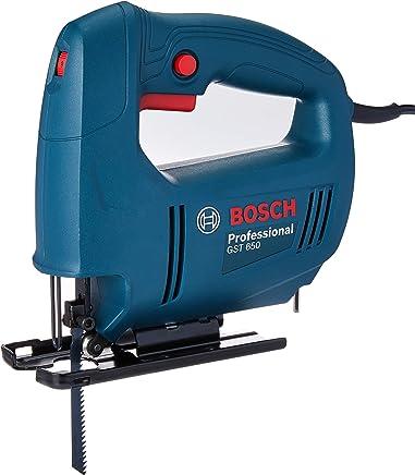 Serra Tico-Tico GST 650 450W 220V, Bosch, 06015A80E0-000, Azul