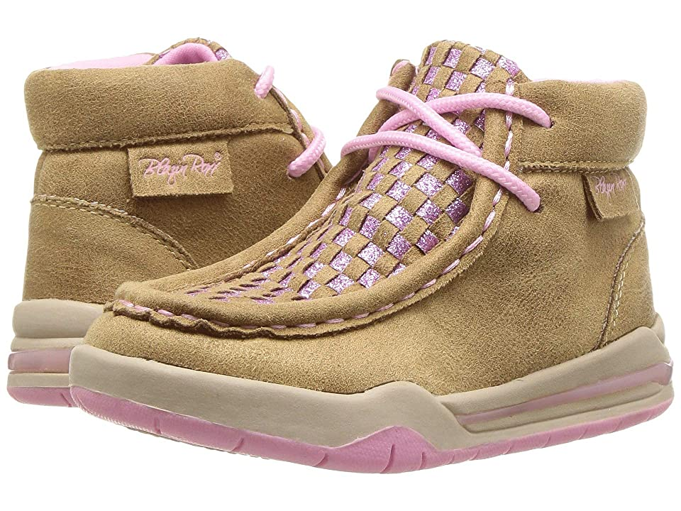 M&F Western Kids Lauren (Toddler/Little Kid) (Tan) Cowboy Boots
