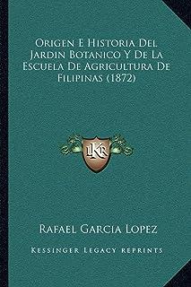 Origen E Historia del Jardin Botanico y de La Escuela de Agricultura de Filipinas (1872)