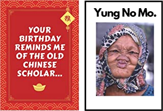Funny Old woman Joke Happy Birthday Greeting Card – Great Happy Bday Gift for Mom, Sister, Wife, Daughter, Girlfriend | 30...