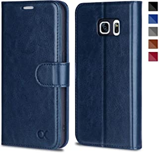 OCASE Samsung Galaxy S7 Case [ Card Slot ] [ Kickstand ] Leather Flip Wallet Case for Samsung Galaxy S7 - Blue