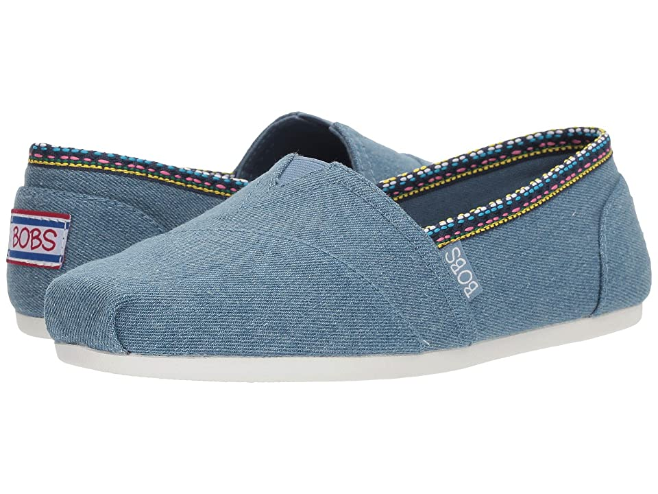BOBS from SKECHERS Plush Powwow (Denim) Women