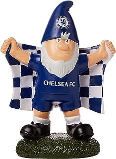 Chelsea FC Official Champ Football/Soccer Crest Garden Gnome