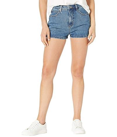 RVCA Azalea High-Rise Denim Shorts Women