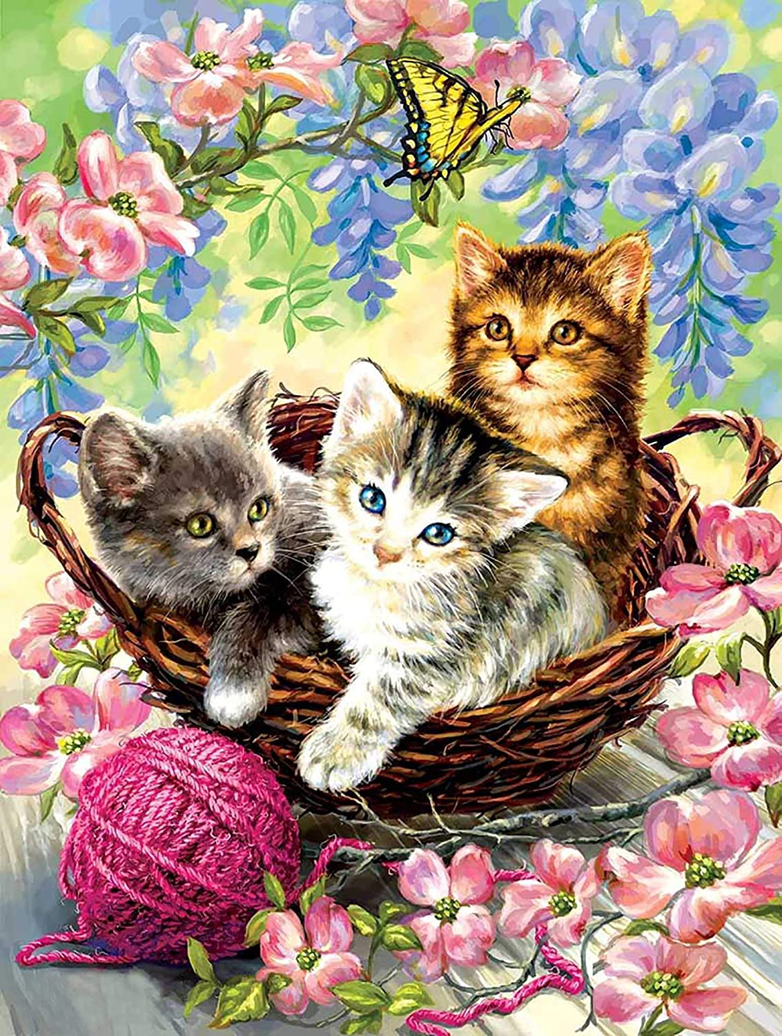 Reofrey DIY Diamond Painting overseas Kits Art Cat Super popular specialty store for An Adults