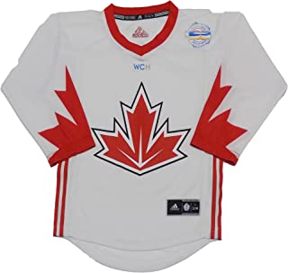 Canada World Cup of Hockey Blank White Youth Replica Jersey
