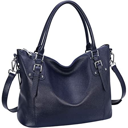 Shining4U Womens European And American Style First Layer Of Leather Top-handle Tote Shoulder Messenger Bag Cross Body Purse Vintage Handbag Chic