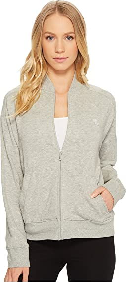 LAUREN Ralph Lauren - French Terry Long Sleeve Zip Jacket