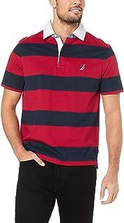 Nautica Men's YD Shipman Polo RED