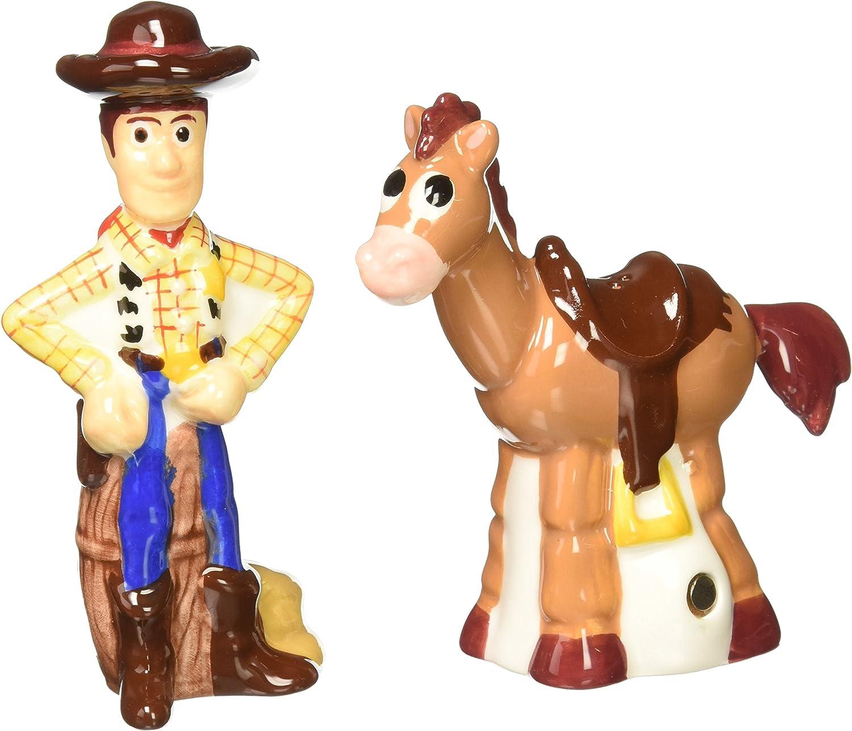 Westland Giftware Woody and Bullseye Salt and Pepper Shakers