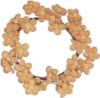 Best button wreath on burlap Reviews