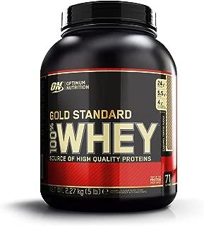 Optimum Nutrition 100% Whey Gold Standard, Caramel Toffee Fudge, 5 Pound