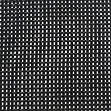 """Cabinet Grill Cloth, Black Weave, 34"""" Width"""