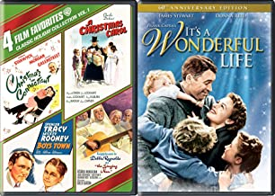 Wonderful Charles Dickens Holiday Connecticut Carol Boys Nun 5 Movie DVD Pack / Boys Town / Hapiness is Debbie Reynolds Singing / Spencer Tracy Boys Town / Barbara Stanwyck / It's Life