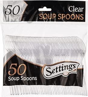 soup spoons plastic
