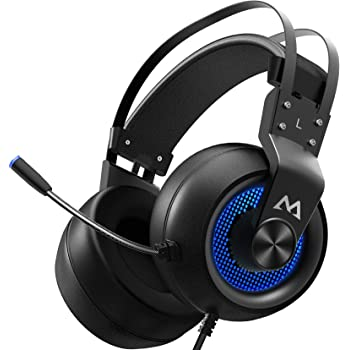 Size : 3.5+USB BB Noise Canceling 7.1 HD Stereo RGB Soft Gaming Headphones 7.1 HD Stereo Gaming Headphones Two-Wire Optional Lightweight Soft b0102