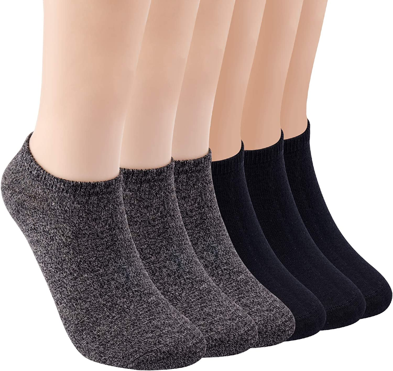 FIXBODY Womens Ankle Low Cut Socks No Show Sock Soft Cotton Casual Socks