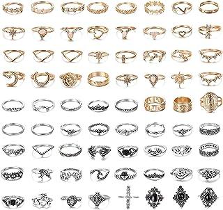 Anillos Para Dedo De Moda Infinito hueco Salida Midi anillos para fiesta de compromiso N7