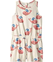 mini rodini - Whale All Over Print Summersuit (Infant/Toddler/Little Kids/Big Kids)