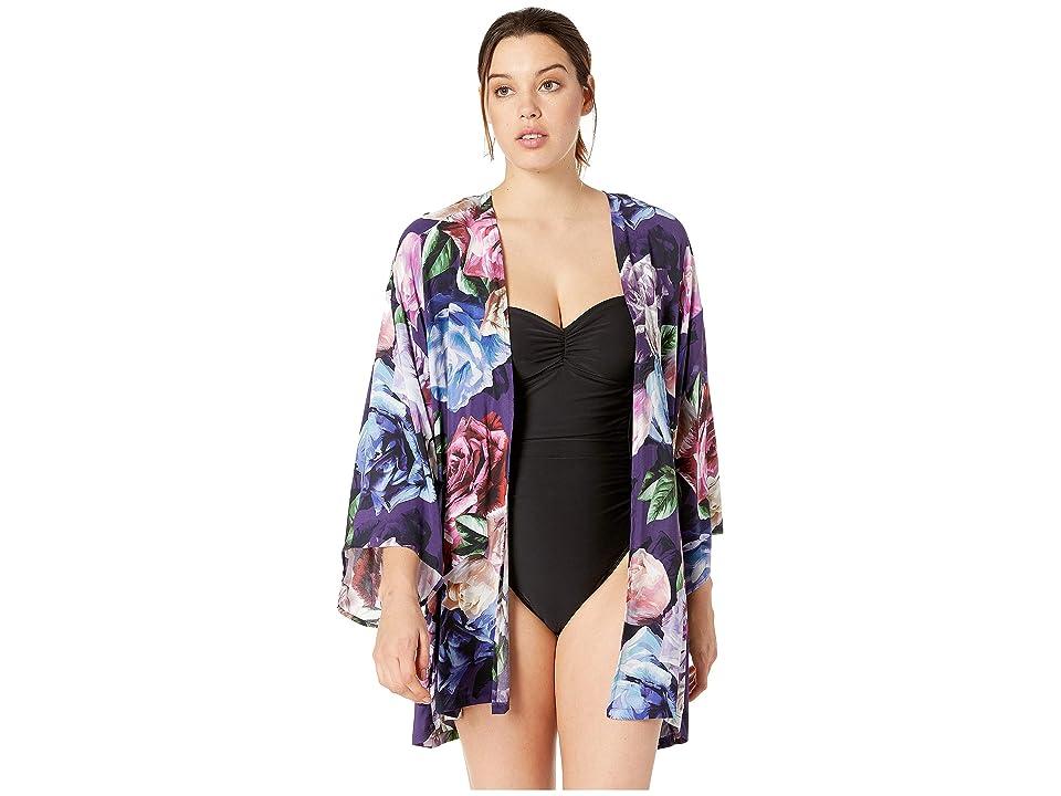 La Blanca - La Blanca Bloomfield Kimono Cover-Up