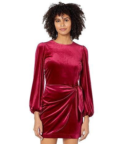Yumi Kim Tie Me Over Dress (Wine) Women