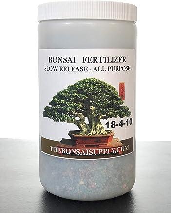 Bonsai Tree Fertilizer 2.4 LB Jar -Tons of Micro Nutrients Vital for Bonsai Health - Slow Release- Apply Every 30 Days (All Purpose Fertilizer)