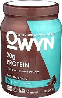 OWYN 100% Plant Protein Powder Dark Chocolate(ダークチョコレート)1.1LB(494g)