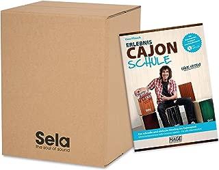 Sela SE 114Carton Cajon with 10books pack of 10