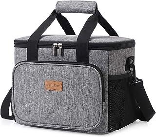 Lifewit 15L (24 Canette) Sac Isotherme Lunch Bag, Sac-Glacière Cooler Bag Sac de Repas pour Déjeuner/Travail/Ecole/Plage/P...
