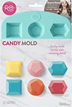 ROSANNA PANSINO by Wilton Silicone Gem Candy Mould, 12-Cavity