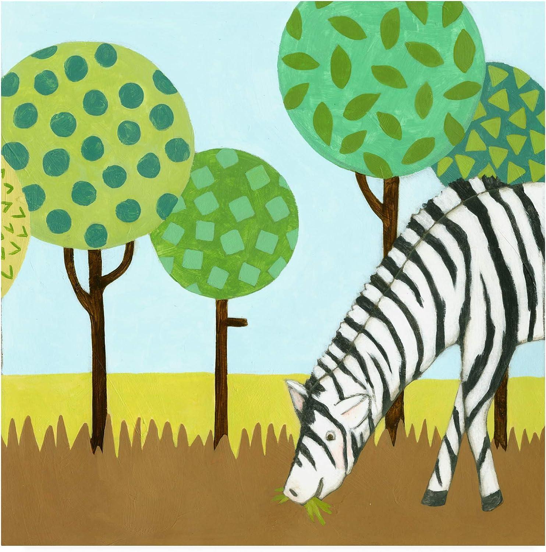Trademark Fine Art WAG16323-C1414GG Jungle Fun IV by Megan Meagher, 14x14