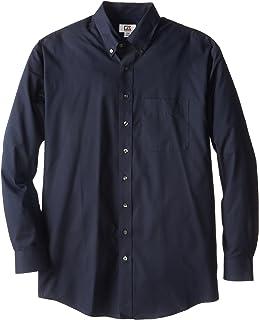 Cutter & Buck Men's Big-Tall Epic Easy Care Fine Twill Shirt, Navy Blue, 3XB