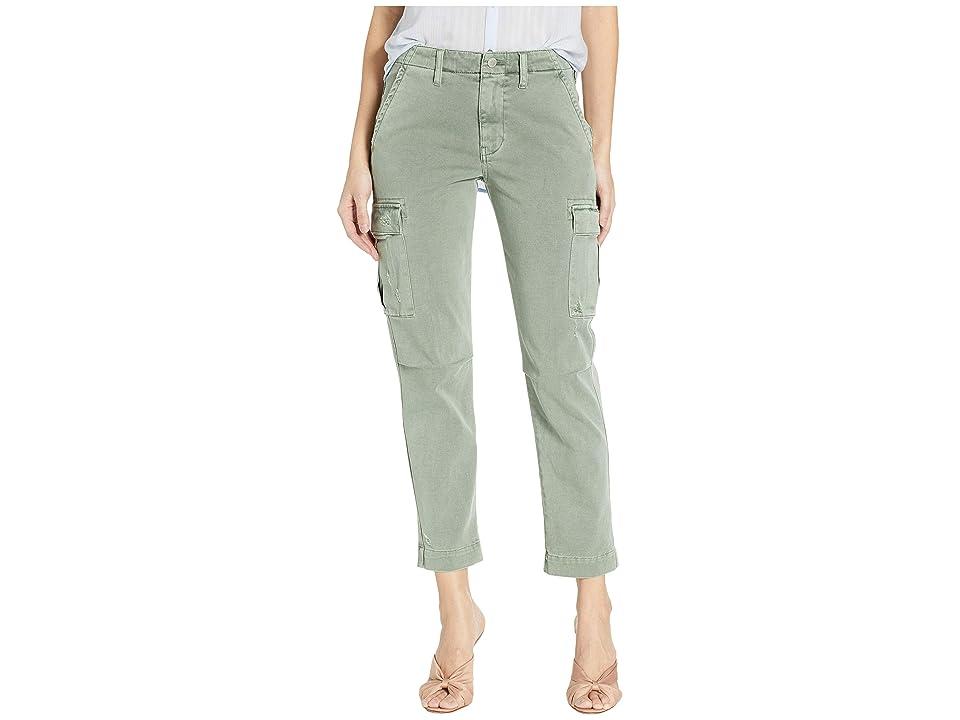 Hudson Jane Slim Cargo Pants in Distressed Sage (Distressed Sage) Women
