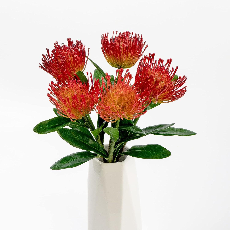 Very popular Artificial Flowers Bargain 5 Flower Fake Sui Needle-Like Heads.