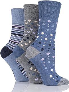 Mega_Jumble® 3 Pairs Ladies Loose Soft Top Non Elastic Bamb