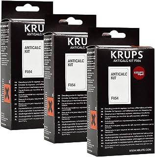 Krups F054 - Kit descalcificador para cafeteras (3 unidades).