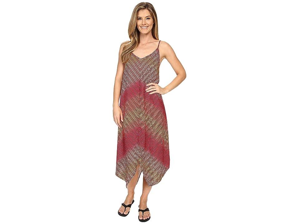 Prana Angelique Dress (Rich Fuchsia) Women