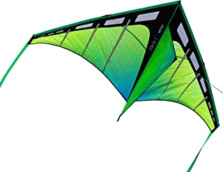 Prism Kite Technology Zenith 7 Aurora Single Line Kite, Ready to Fly with line