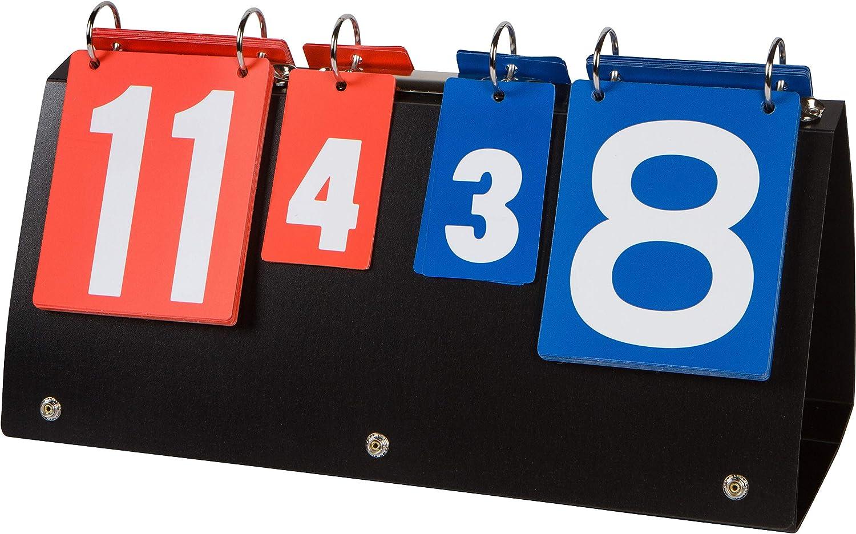 Trademark Innovations Portable Table Scoreboard for Tennis, Bask