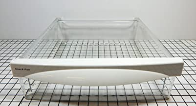 GE Refrigerator WR32X10836 Snack Pan with WR17X12492 Handle